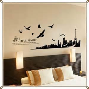 modern paris room decor ideas wall decoration stickers 2017 grasscloth wallpaper