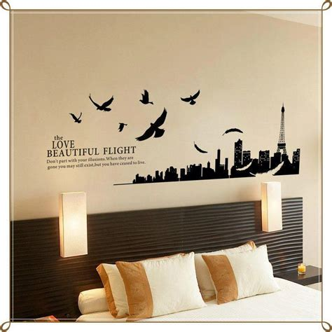 bedroom wall art ideas modern paris room decor ideas