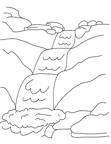Rivière (Nature) – Coloriages à imprimer