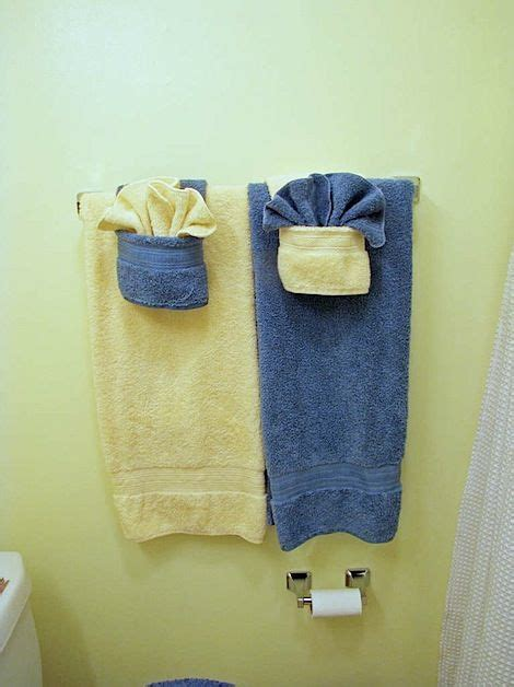 bathroom towel folding ideas 96 best decorative towels images on pinterest fold