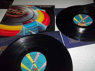 Out Of The Blues Original popsike electric light orchestra out of the blue