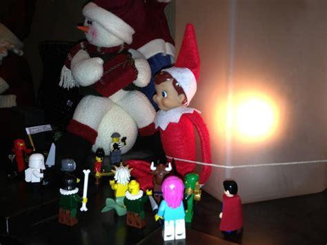 elf on the shelf minecraft creeper printable lego figurines tied up the elf on the shelf over 50 elf on