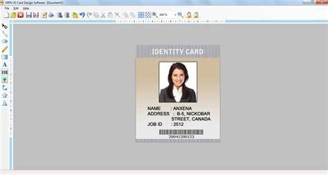 id card design tool id card design shareware non destructive identification