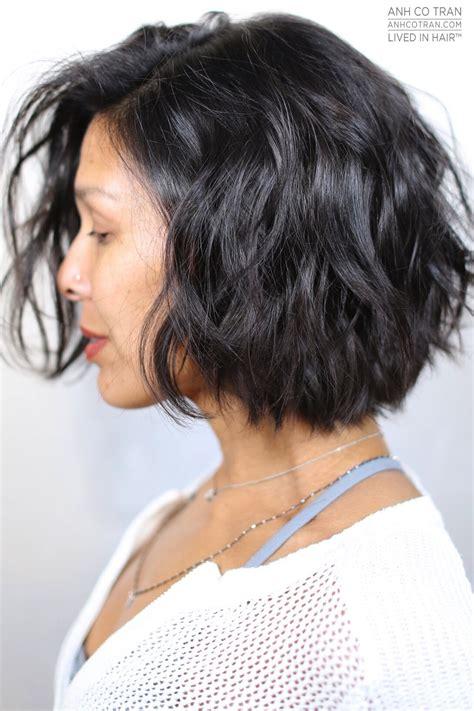 textured bob anh co tran celebrity hair stylist