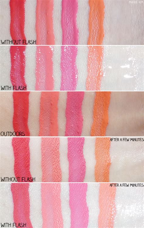 Etude Color Fit etude house color fit review and swatches marxie
