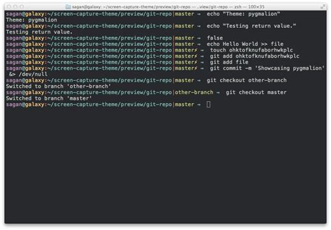 all themes list theme list zsh themes