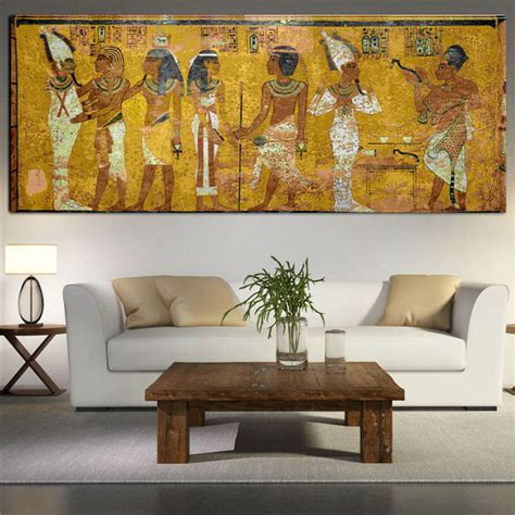 framed wall art for living room egyptian decor canvas painting oil painting wall pictures