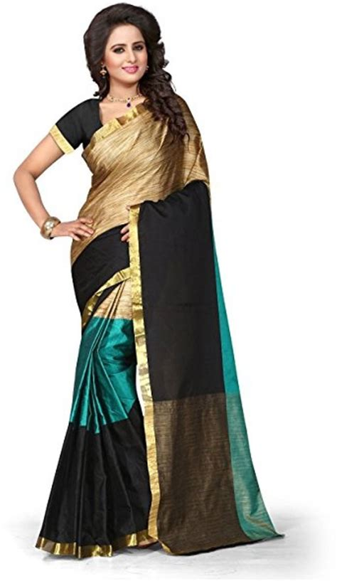 Sale Sari Kurma Almadinah Original buy fastcolors printed silk cotton blend multicolor sarees best price in