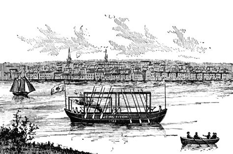 steamboat john fitch john fitch s steamboat clipart etc