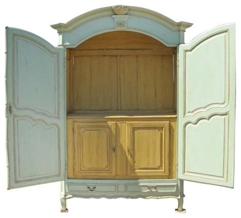 French armoire traditional armoires and wardrobes by ecofirstart
