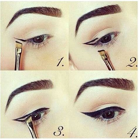 top eyeliner tutorial liquid liquid eyeliner tips b e a u t y pinterest