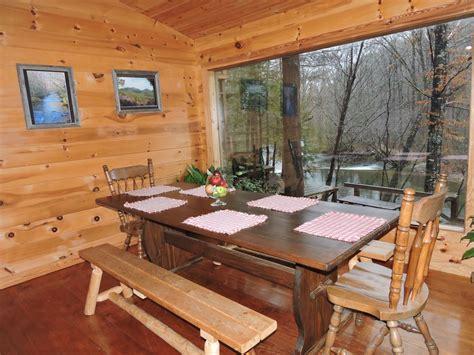 vrbo table rock sc beautiful river cabin w screen porch deck vrbo