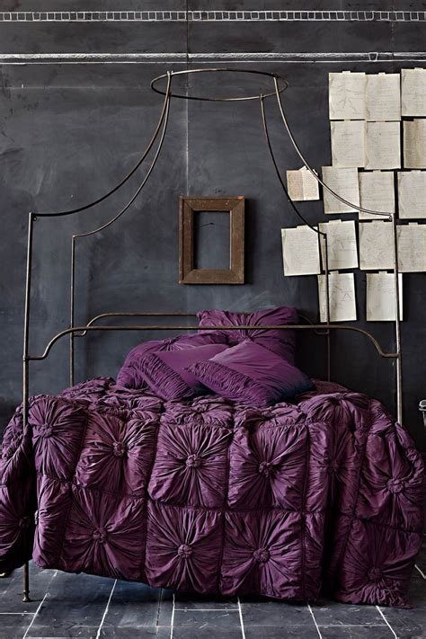 dark purple and grey bedroom 25 cool chalkboard bedroom d 233 cor ideas to rock digsdigs