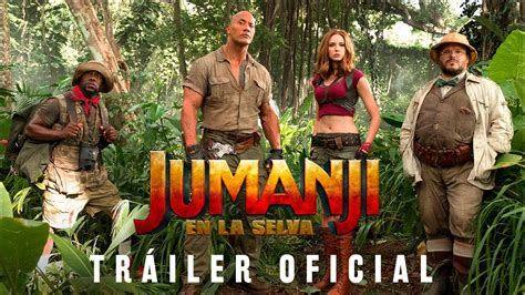 film jumanji streaming jumanji en la selva tr 225 iler 2 youtube