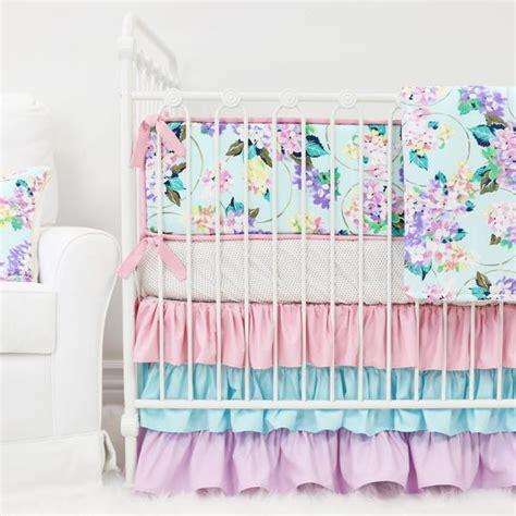 pastel colored bedding pastel crib bedding soft color baby bedding caden lane