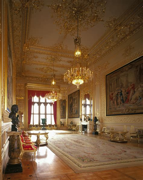 Windsor Castle The Grand Reception Room Photographer Castle Room
