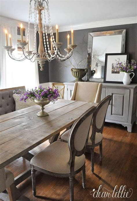 mismatched chairs chairs and farmhouse table on pinterest