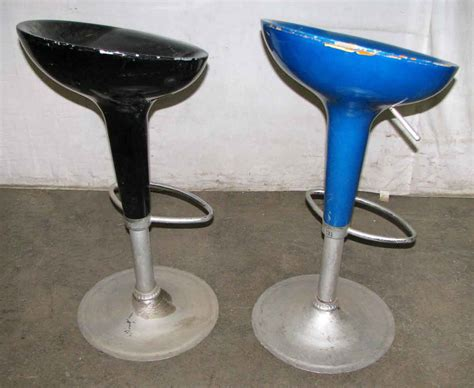 Glass Bar Stools by Vintage Fiber Glass Bar Stools Olde Things