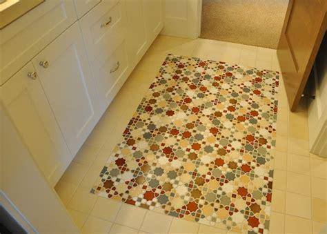 Bathroom Tile Rug Floor Tile That Looks Like A Rug My Nest