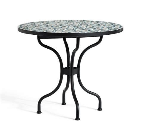Tile Top Bistro Table Tile Top Bistro Table Pottery Barn