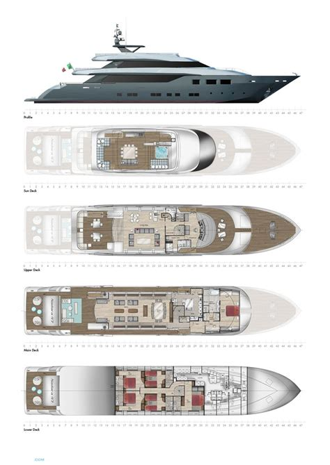 luxury yacht floor plans nadara 47 yacht for sale layout tecnomar superyachts
