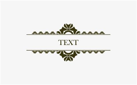 decorative text box decorative title text box title decoration text box png