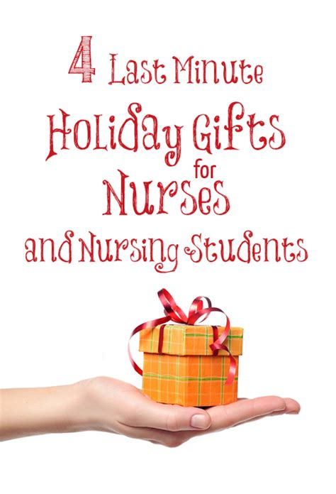 4 last minute holiday gifts for the nurses and nursing