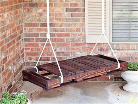 diy swing diy inspired pallet swing ideas diy and crafts