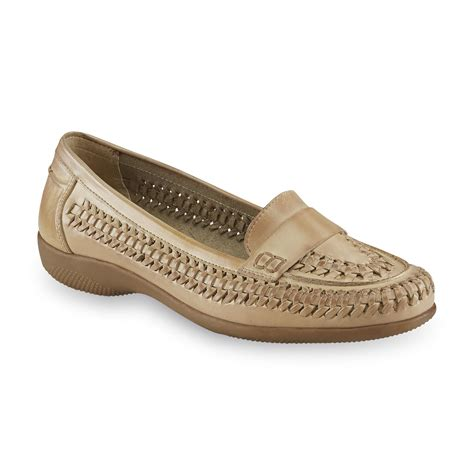 i love comfort shoes at sears i love comfort women s leather mabel taupe loafer shoes