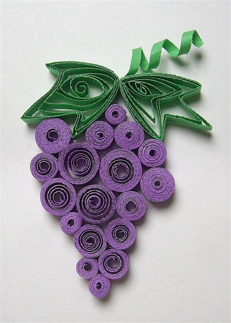 How To Make Paper Grapes - crafts actvities and worksheets for preschool toddler and