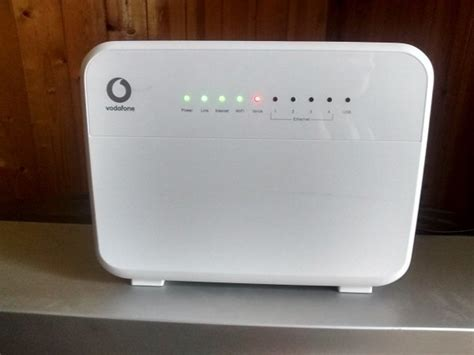 Modem Wifi Vodafone vodafone hg658c fibre broadband wifi modem router for sale