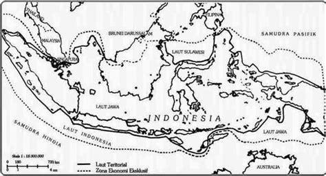 daerah teritorial adalah luas dan bentuk wilayah negara indonesia sejarah negara com