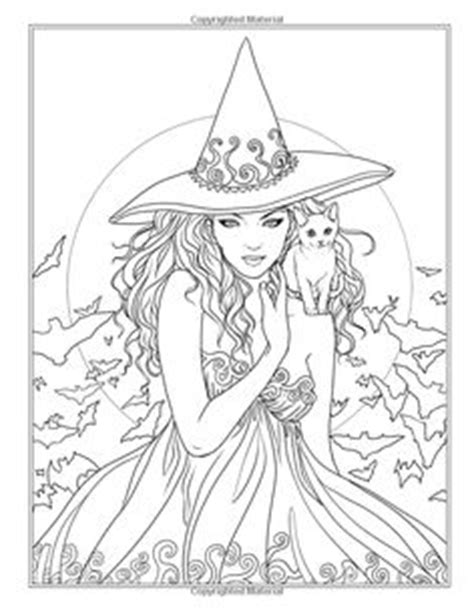 kawaii witches autumn coloring book an autumn coloring book for adults japanese anime witches cats owls fall festivities books autumn coloring book witches vires