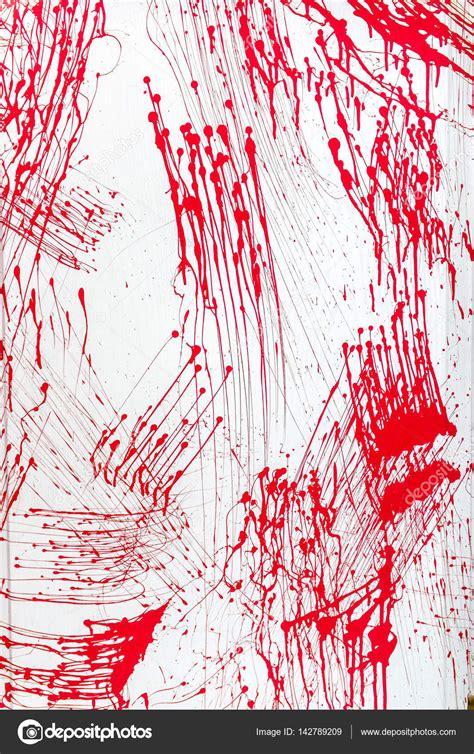 acrylic paint blood blood splatter acrylic paint splash isolated on wall