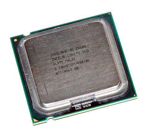 Intel 2 Duo E4500 22 Ghz Socket 775 intel hh80557pg0492m 2 duo e4500 2 20ghz socket t lga775 processor sla95 735858194976 ebay