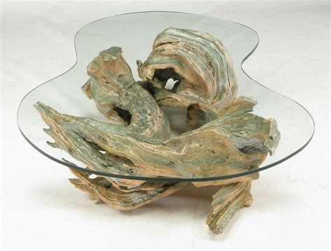 driftwood glass top coffee table driftwood coffee table design images photos pictures