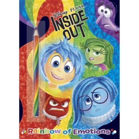 inside outside books 楽天市場 取寄せ ディズニー disney us公式商品 インサイド ヘッド inside out 本 洋書