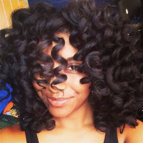perms with curl formers natural hair and perm rods on pinterest