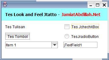 download themes untuk java download jtatto look and feel untuk java