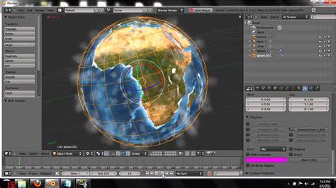 blender tutorial earth blender 2 5 planet atmosphere effect tutorial youtube
