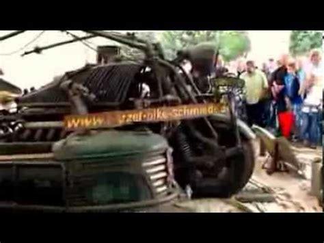 Boss Hoss Motorräder Mit V8 by Motorrad Mit Panzermotor Motorcycle With Tank Engine