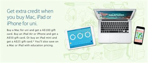apple launches annual   school promotion