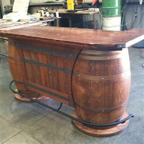 wine barrel bar table 25 best ideas about barrel bar on whiskey
