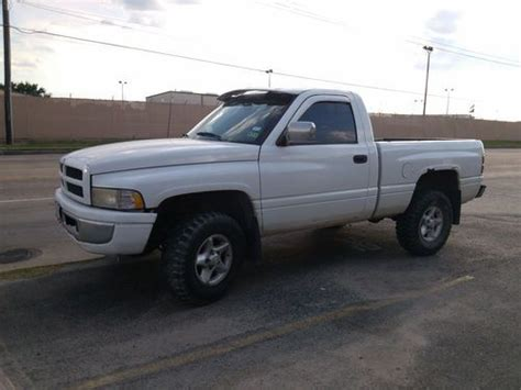1997 dodge ram 1500 specs pictures trims colors cars com sell used 1997 4x4 white dodge ram 1500 v 8 5 9l excellent running condition in baytown