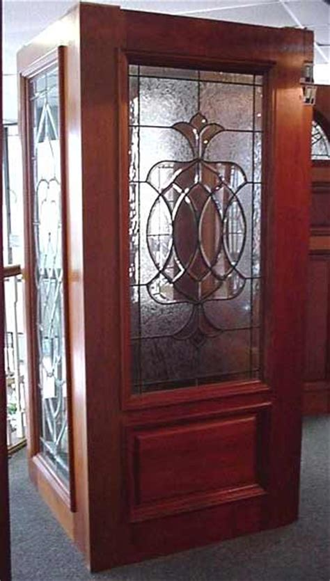 Decorative Glass For Entry Doors Decorative Beveled Glass Entry Doors