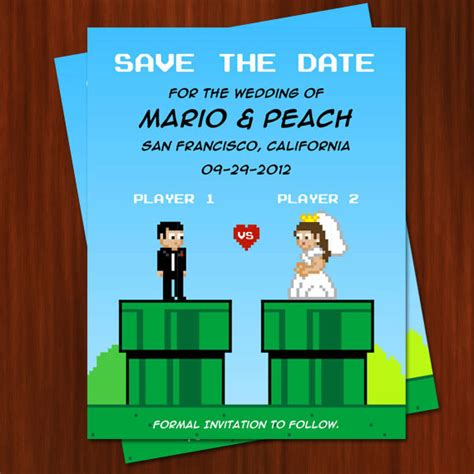 8 Save The Date Cards Perfect For A Geek Wedding Project Fandom Wars Save The Date Templates