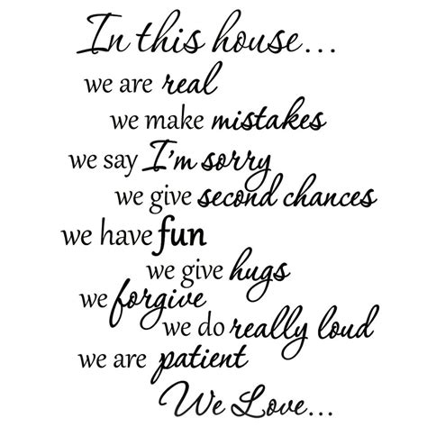 Wall Phrases Stickers gallery of family sayings wall art catchy homes interior