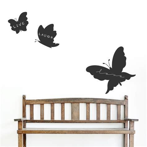 wall sticker chalkboard butterfly chalkboard set wall decal