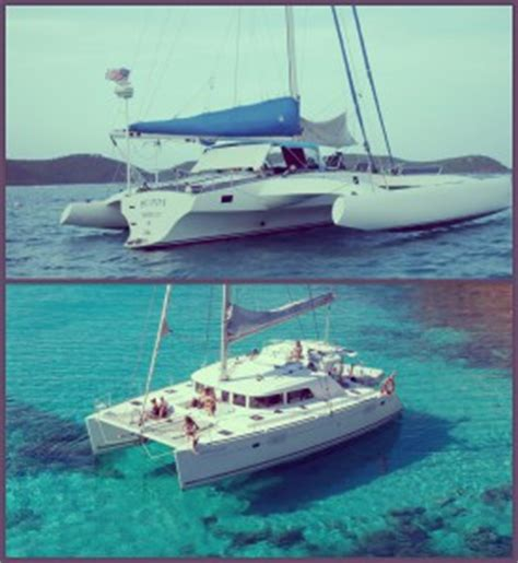 catamaran boat difference the difference between a trimaran and a catamaran exaqua