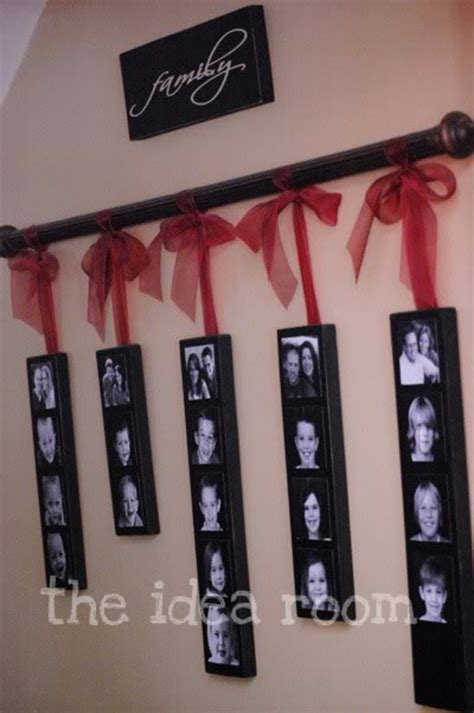 ideas for hanging family photos on the wall 40 creative handmade photo crafts diy